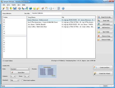 cdg format karaoke karaoke dvd burner convert your cd g songs into dvd video