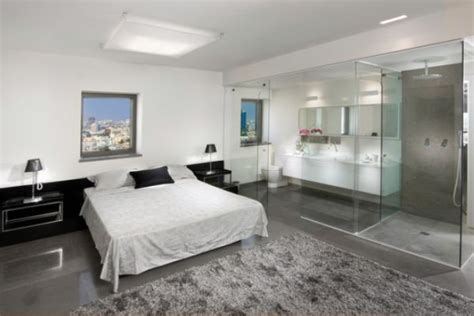 master bedroom bathroom designs bedroom and bathroom 2 in 1 suites clever combos or risky designs