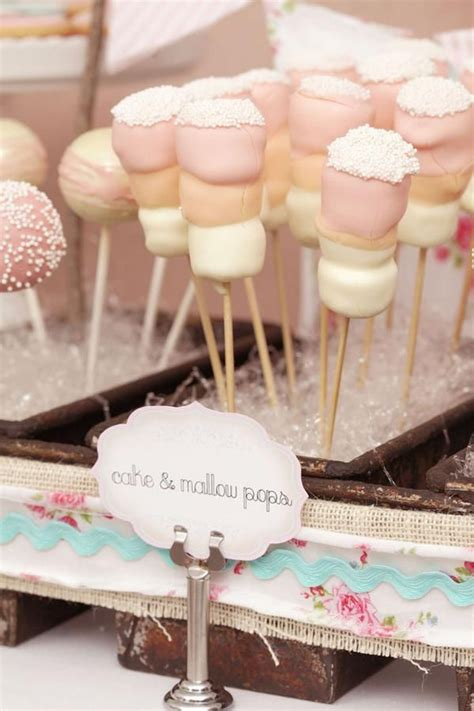 marshmallow for bridal showers 106 best shabby chic baby shower images on birthdays stations and dessert tables