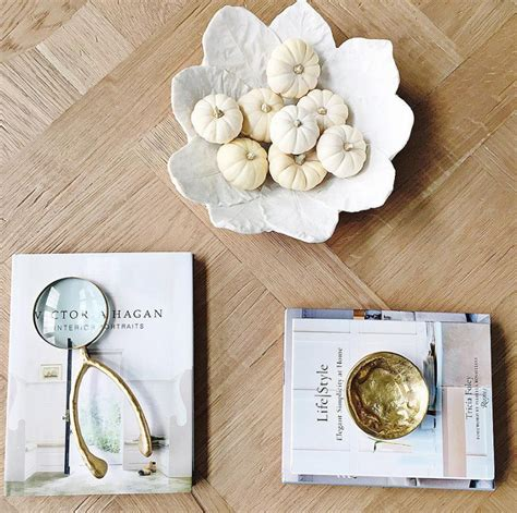 fall coffee table decor beautiful homes of instagram home bunch interior design
