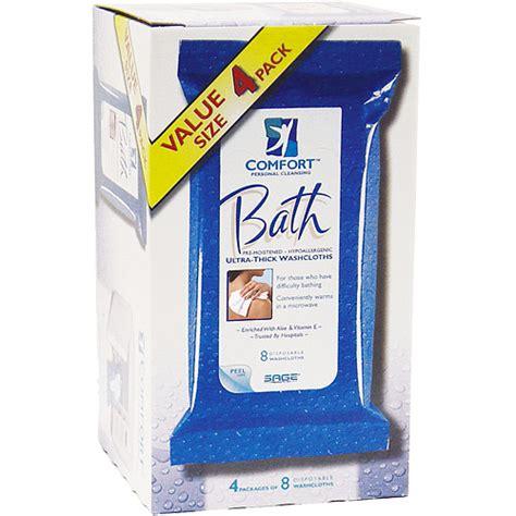 comfort bath cloths comfort bath washcloths 4 packs of 8 washcloths walmart com