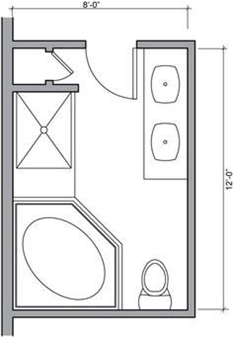 8 X 10 Master Bathroom Layout by Bathroom Layout Search And Walk In On