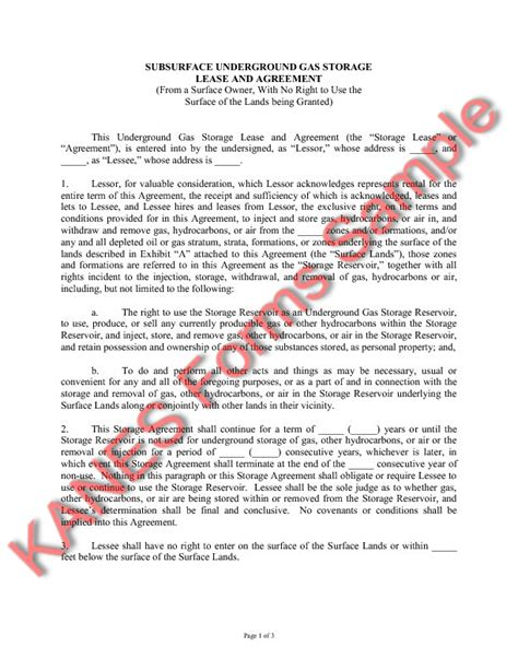 Letter Agreement And Gas Easement Agreement Template Free Printable Documents
