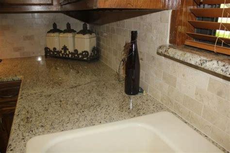 giallo ornamental granite with backsplash 17 best images about backsplash on giallo
