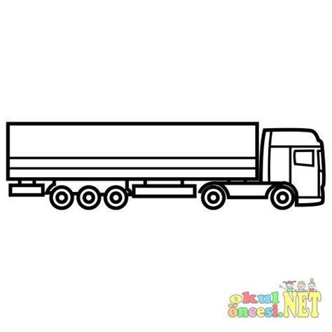 kamyon ve tir boyama okul oencesi okul oencesi