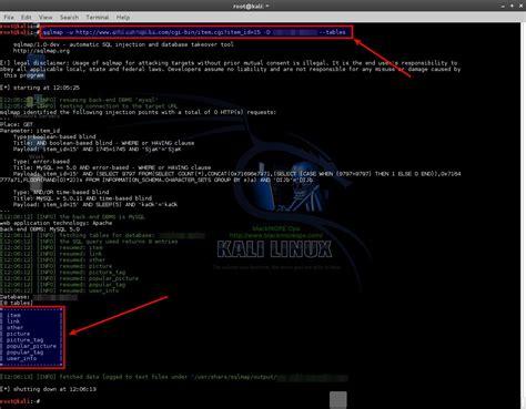 tutorial hack database sql injection tutorial pentesting tutorials