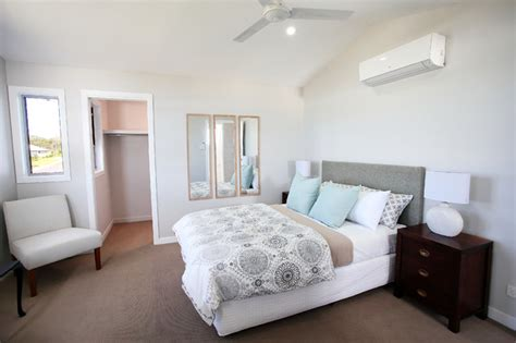 Bedroom Furniture Townsville Cosy Htons Style Transitional Bedroom Townsville By Ethos Interiors
