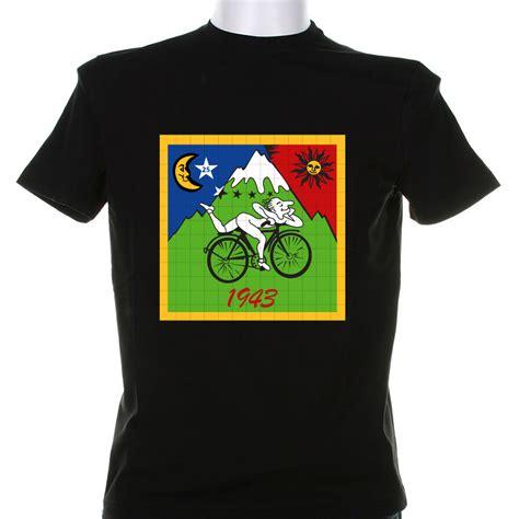 Print T Shirt blue muppet albert hoffman 1943 t shirt print