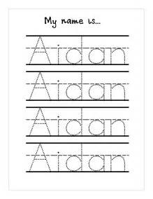 Tracing Name Template by Tracing Names Worksheet Fioradesignstudio