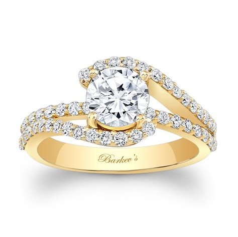 barkev s yellow gold engagement ring 7848lyw