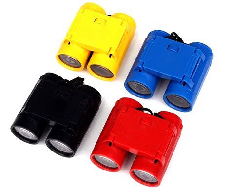 Mainan Anak Edukasi Clown Clock teropong mainan binoculars anak outdoor telescope black