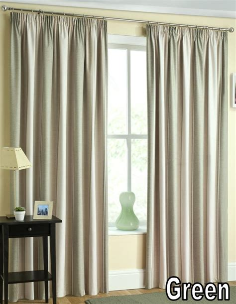 Two Tone Curtains Twilight Thermal Backed Curtains Top Three Tone Striped Curtains Ebay