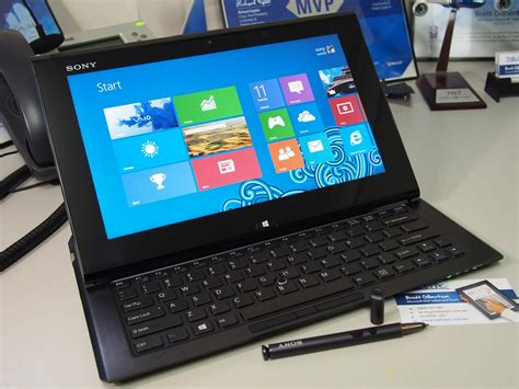 Tablet Sony Vaio Windows 8 sony vaio duo ii windows 8 slider tablet microsoft