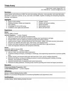 rig resume sle welders helpers resume sales welder lewesmr boilermaker