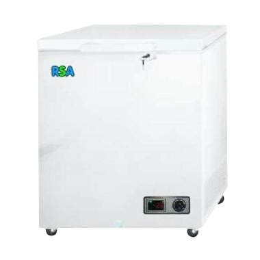 Freezer Polytron 100 Liter jual rsa freezer box cf100 putih chest freezer 100l