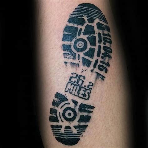 tattoo ink running 40 running tattoos for men ink design ideas in motion