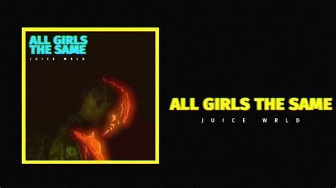 The Same juice wrld quot all are the same quot official audio