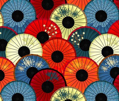 japanese umbrella pattern chinese umbrellas large scale fabric bippidiiboppidii