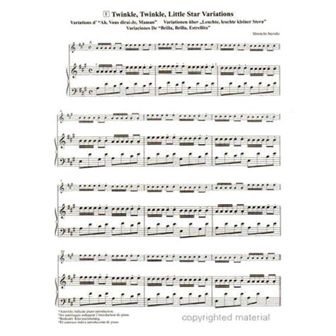 Violin Suzuki Book 1 Suzuki Violin School Piano Accompaniment Volume 1 Shar