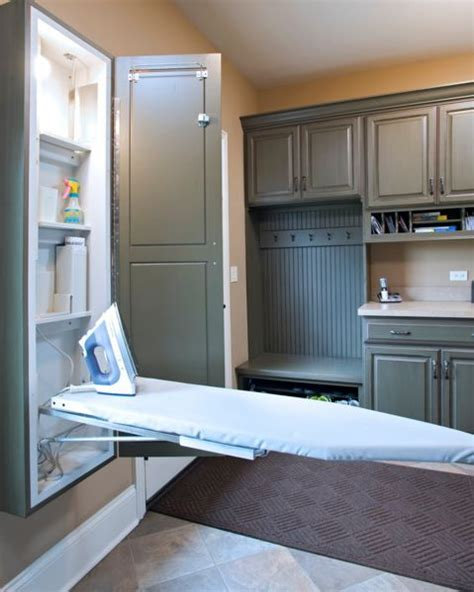 how to hang laundry room cabinets ironing board cabinet essentials and styling