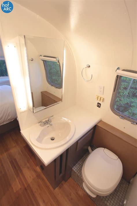 airstream bathroom 1984 airstream 310 motorhome renovation by hofarc