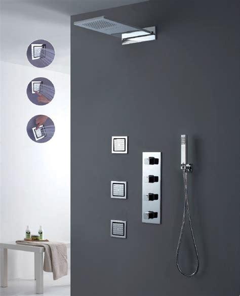 Digital Shower by Luxury Thermostatic Shower Set Digital Shower Mixer Shower