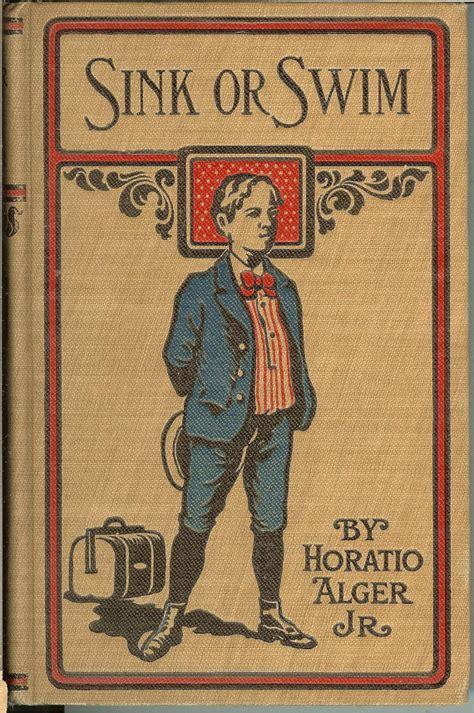sink or swim book antique sink or swim horatio alger book 1870