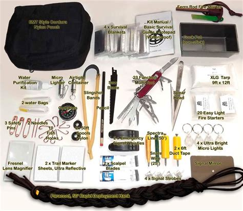the essentials to in your car bug out bag emergency
