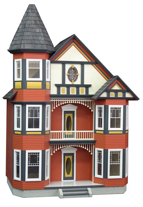 how to paint a wooden dollhouse search my dollhouse painted