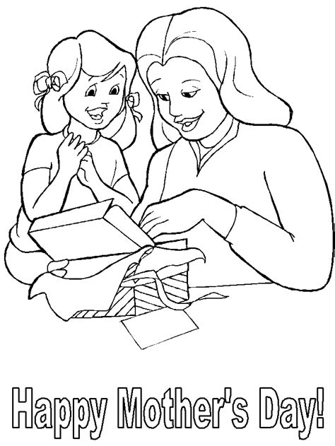 Mothers Day Coloring Pages Coloring Pages To Print Day Color Pages