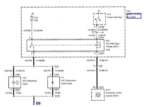 2003 ford focus air conditioning wiring diagram wiring
