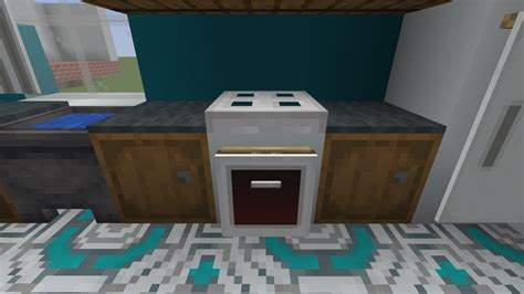stove top  oven minecraft furniture