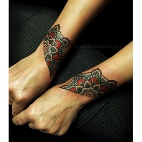 81 fantastic mandala wrist tattoos design