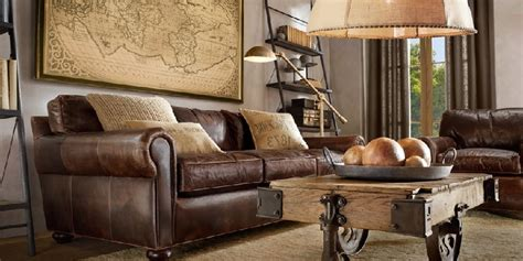leather sofa living room trends designs and ideas 2018