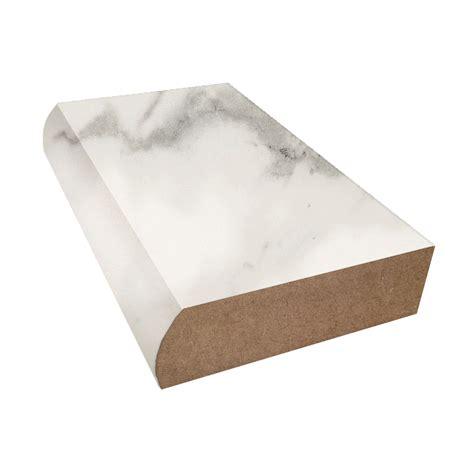 calacatta marble formica bullnose countertop trim