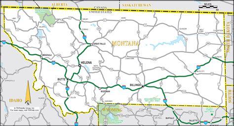 of montana map map of montana montana maps mapsof net