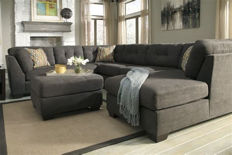 Gray Sectional Sofa With Chaise Lounge Charcoal Gray Sectional Sofa With Chaise Lounge Gray Sectional Sofa With Chaise Lounge Has One