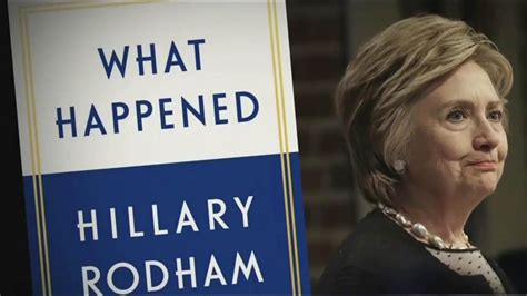 this is what happened books in new book what happened clinton blames
