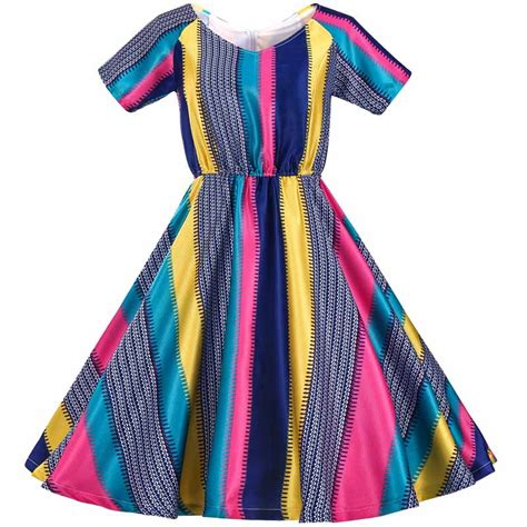 rainbow colored dresses rainbow colored dress promotion shop for promotional