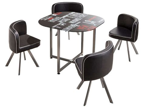 table ronde avec chaise table ronde chaise encastrable