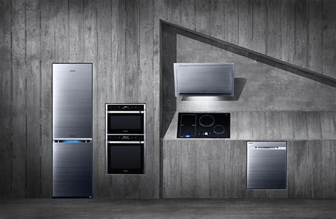 futuristic kitchen appliances samsung shows off its futuristic kitchen appliances