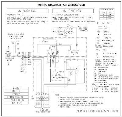 trane 5 ton split system wiring diagrams wiring diagram