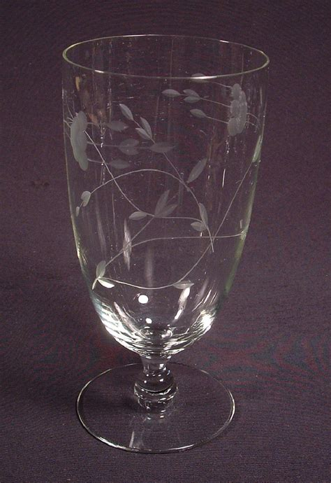 princess house glassware princess house heritage glassware iced tea glasses princess house