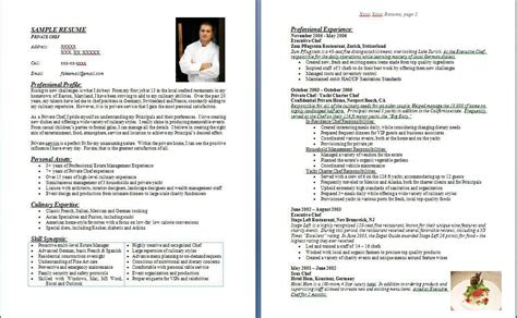 Sous Chef Resume Examples by Doc 500708 Examples Chef Resumes Chef Resume Example