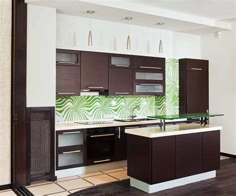 piccole cucine componibili le tende tocco fantasioso per l arredamento cucina