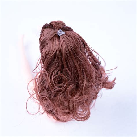 hair style doll for black fashion hairstyle doll with black brown hair