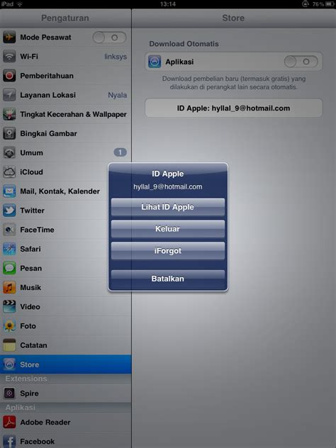 cara membuat apple id untuk iphone 5 cara ganti apple id di iphone dan ipad free all 4 u