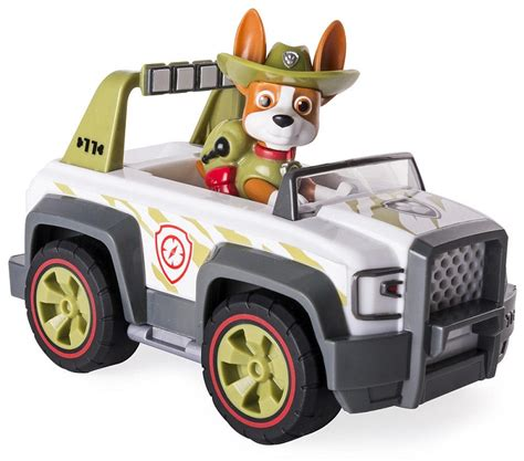 tracker jeep paw patrol paw patrol tracker s cruiser jungle rescue vehicle and pup