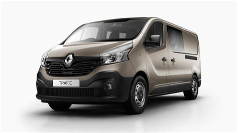 renault vans 2017 renault trafic crew added to local range photos