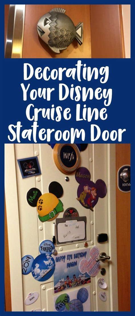 disney cruise door magnets decorating your stateroom door